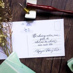 Viết postcard