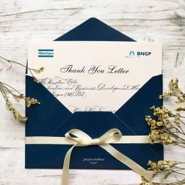 Viết thư cảm ơn cho doanh nghiệp