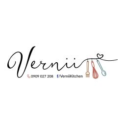 Logo tiệm bánh Vernii